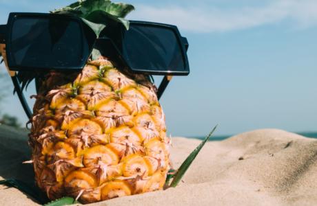 ananas-zonnebril-focus