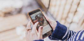 vrouw-instagram-telefoon-zelfliefde