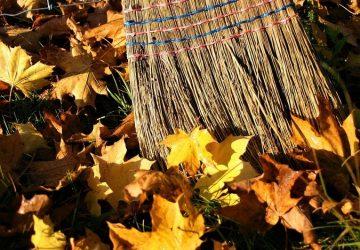 herfst in een opgeruimd huis